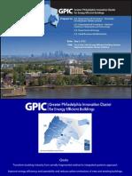 The Greater Philadelphia Innovation Cluster for Energy Efficient Buildings
