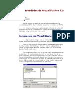 Las Novedades de Visual FoxPro 7