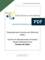04.05 Carreiras Em Data Science Cientista de Dados