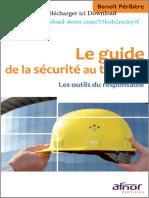 Le Guide de La Sécurité Au Travail by Benoît Péribère