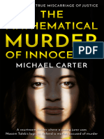 The Mathematical Murder of Innocence by Michael Carter