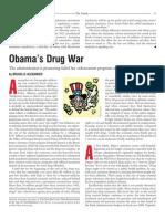 Obamas Drug War