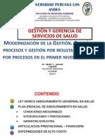 CLASE 12 ORGANIZACION DEL FINACIAMIENTO Y DE LA PRESTACION