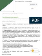 ARL SURA - Riesgos Laborales - ARL - Uso del puesto de trabajo (I)