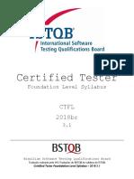 Syllabus Ctfl 2018br Material Certificação