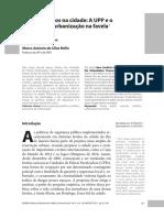 Neiva Vieira da Cunha & Marco Antonio da Silva Mello - Novos Conflitos na Cidade. A UPP e o processo de urbanização na favela