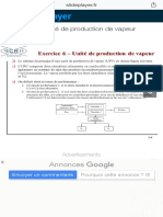 Exercice 6 – Unité de production de vapeur - ppt video online télécharger