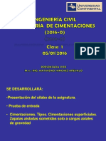 01 Ing de Cimentaciones - Clase 1-06-01