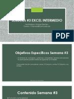 Semana 3 Excel Intermedio