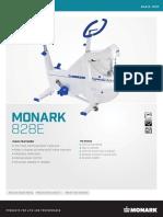 MONARK 828E Specs