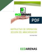 ECO-SGI-IT002 Instructivo de operación segura Minicargador