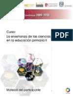 GUIA DEL PARTICIPANTE Curso La Enseñanza de las Ciencias Naturales en la Escuela Primaria II unitep053 ATP FJIR XXCM