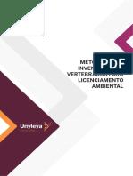 Metodos Para Inventarios de Vertebrados Para Licenciamento Ambiental