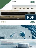 Land Rover Defender Broschure
