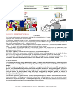 PC1 - GUIA 3 ECONOMIA - GRADO 10  POLITICA DEMOCARCIA Y CONSTITUCION