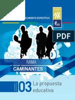 Documentos de Programa Caminantes 3