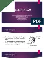 Cementação - Slide de apresentação