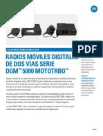 Serie DGM-5000 5500 Movil