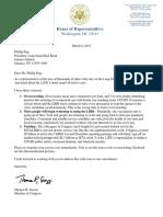 LIRR Letter Re Service Cuts Final