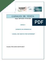 0VENTAS CANALES DE VENTA PRODUCTOS KETA SUB