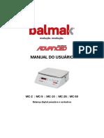 BALMAK Manual do Usuário linha MC