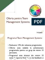 Oferta Program Team Management Systems
