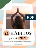 21 Hábitos Para 2021
