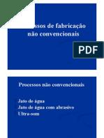 Trabalho Processos de Fabricao Nao convencionais