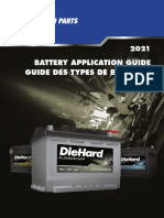 CARQUEST Die Hard Battery Application Guide 2021