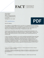 FACT Letter to OCE