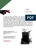 release - E Daí - Selo Risco impresso