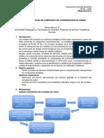 Practica N° 3 Caracterizacion de un Compuesto de Coordinacion de Cobre
