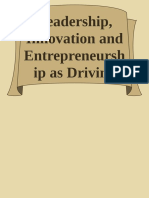 Leadership, Innovation and Entrepreneurship as Driving Forces of the Global Economy_ Proceedings of the 2016 International Conference on Leader