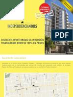 Edificio Independencia 4085