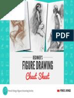 Figure Drawing Cheat Sheet