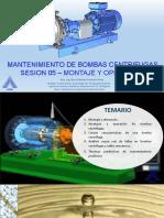MANTENIMIENTO DE BOMBAS CENTRIFUGAS SESION 05