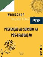 E-BOOK - Workshop Conexão PlanScie