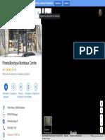 FitnessBoutique Bordeaux Centre– Google Карты