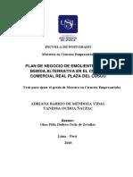 Fuerzas de Porter 2018_barrio de Mendoza