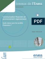 rapport sur la communication financière