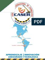 Mini Catalogo CURSOS  CASER 2018