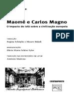 PIRENNE, Henri - Maomé e Carlos Magno (Cap 4)