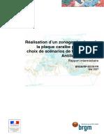 Rapport BRGM Tsunami Antilles Zonage Sismique