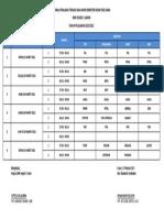 Jadwal Pas Genap 2020-2021 Khusus Kelas 12