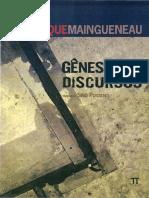 Maingueneau - Gênese Dos Discursos