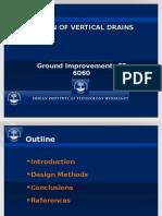 prefabricated vertical drains
