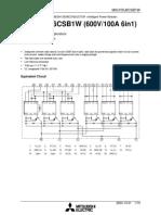 MIG100J6CSB1W SEMICONDUCTION datasheet