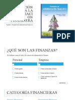 1.Introducción a la administración financiera