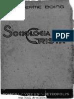 SOCIOLOGIA CRISTA - VOLUME I