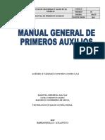 MANUAL DE PRIMEROS AUXILIOS 2019